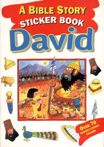 Favorite Bible Stories Sticker Book-David: Graham Round