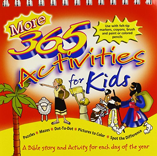 More 365 Activities for Kids (082547292X) by Tim Dowley; Peter Wyart