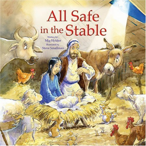 9780825473050: All Safe in the Stable: A Donkey's Tale