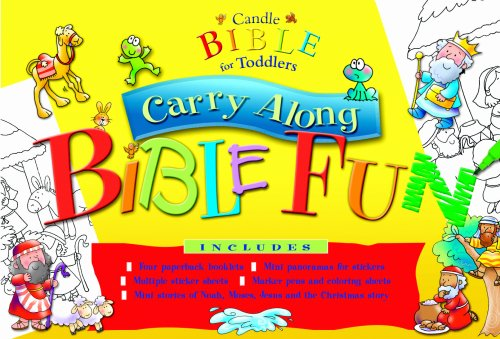 9780825473364: Candle Bible for Toddlers Carry Along Bible Fun