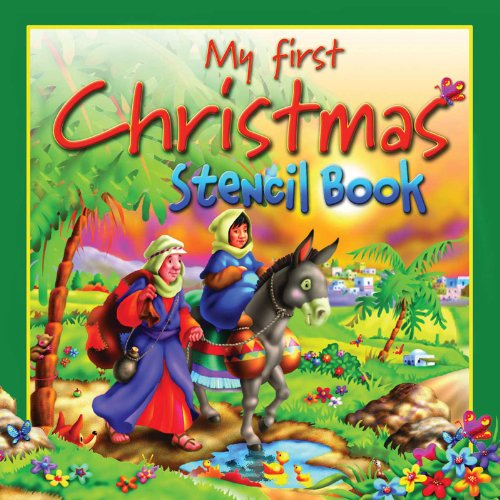 9780825474200: My First Christmas Stencil Book (Stencil Books)