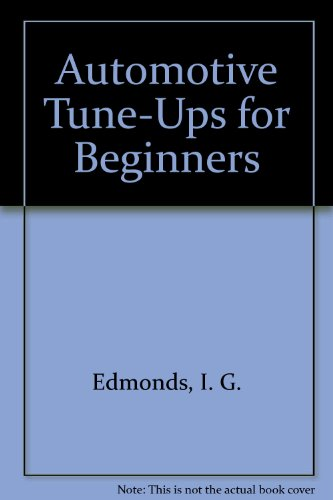 9780825530203: Automotive Tune-Ups for Beginners