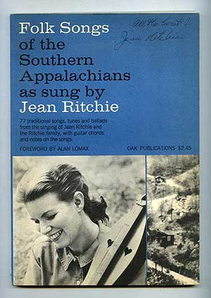 Folk Songs of the Southern Appalachians as Sung by Jean Ritchie (0825600391) by RITCHIE, Jean