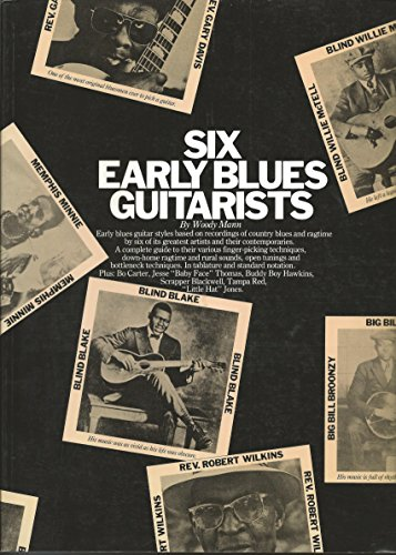 9780825601354: Six Early Blues Guitarists