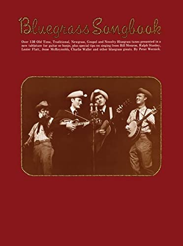 9780825601644: Bluegrass Songbook: Melody/Lyrics/Chords (Banjo)