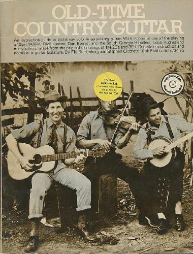 Old-Time Country Guitar: Cicchetti, Stephen & Bredenberg, Fly