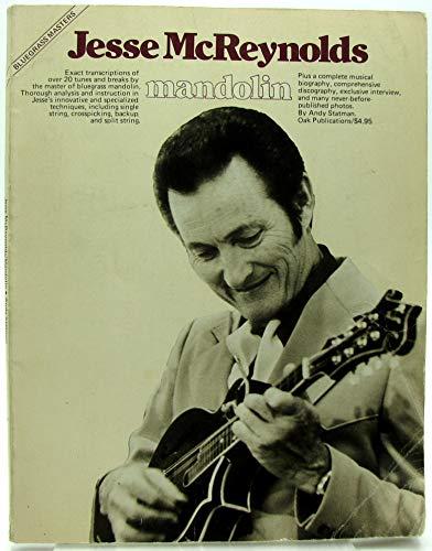 9780825602207: Bluegrass Masters: Jesse McReynolds Mandolin