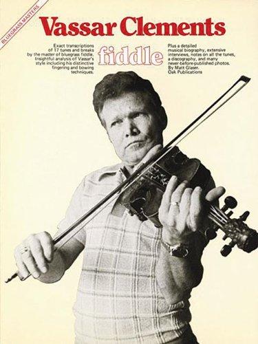 9780825602238: Bluegrass Masters: Vassar Clements Fiddle (Bluegrass Masters Series)