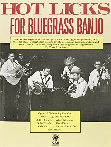 9780825602887: Hot Licks for Bluegrass Banjo