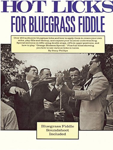 9780825602894: Hot Licks for Bluegrass Fiddle
