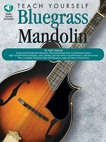 9780825603266: Teach yourself Bluegrass mandolin: (E)