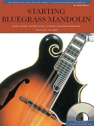 9780825603518: BLUEGRASS MANDOLIN BK/CD
