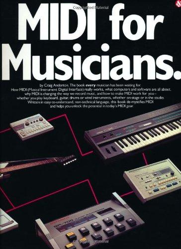 9780825610509: Midi for Musicians