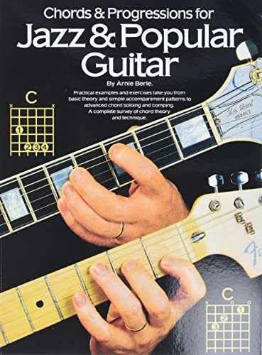 9780825610561: Chords and Progressions Jazz and Popular Gtr (Guitar Books)