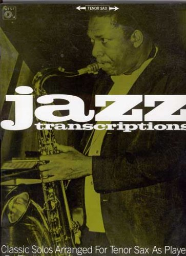 9780825612275: Jazz Transcriptions Tenor Sax