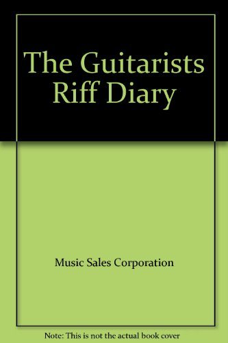9780825613210: The Guitarists Riff Diary