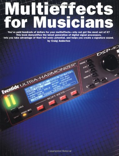 9780825614477: Multieffects for Musicians