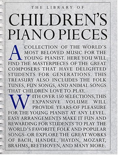 The Library Of Children's Piano Pieces (0825614554) by [???]