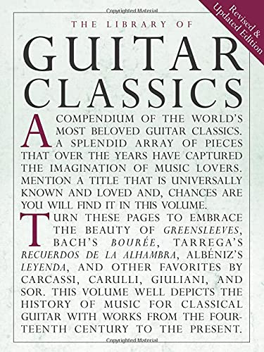 9780825614750: Library of Guitar Classics (Library of Series)