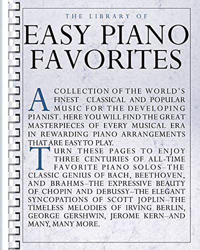 9780825614835: The Library of Easy Piano Favorites