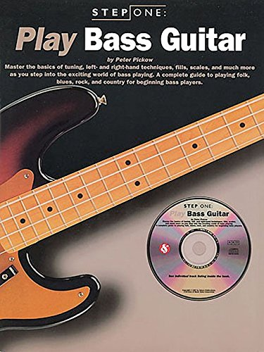 9780825615924: Step One: Play Bass Guitar