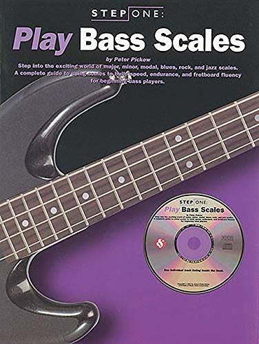 Step One: Play Bass Scales (9780825615931) by Peter Pickow