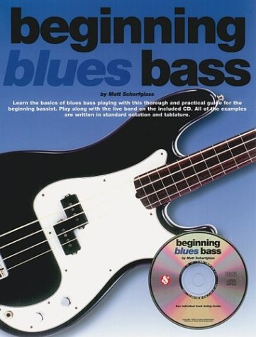 9780825616082: BEGINNING BLUES BASS (Bass Guitar)