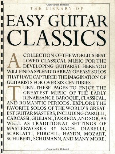 9780825616174: The Library of Easy Guitar Classics