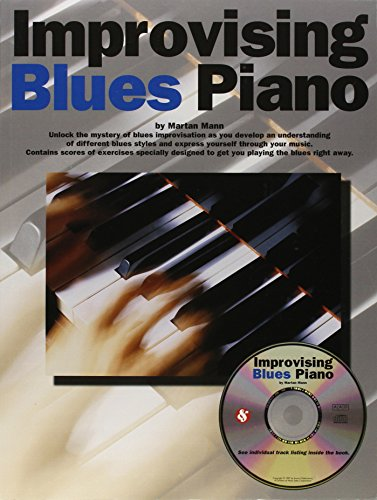 9780825616242: Improvising Blues Piano