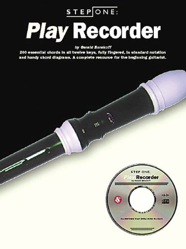 9780825616457: STEP ONE: PLAY RECORDER (Step One Teach Yourself)