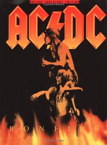9780825616525: Ac/Dc: Bonfire/Guitar Tablature Edition