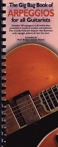 The Gig Bag Book of Arpeggios for: Dineen, Joe and