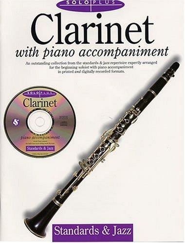 9780825616655: Solo Plus: Standards & Jazz: Clarinet With Piano Accompaniment