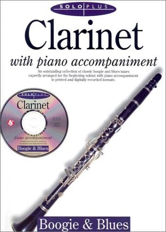 9780825616716: Solo Plus: Boogie & Blues: Clarinet with CD (Audio)