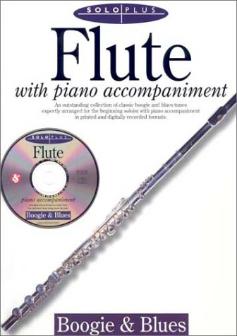 9780825616723: Solo Plus: Boogie & Blues: Flute with CD (Audio)