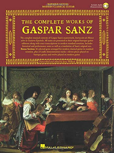 9780825616952: The Complete Works of Gaspar Sanz - Volumes 1 & 2 (Classical Guitar)