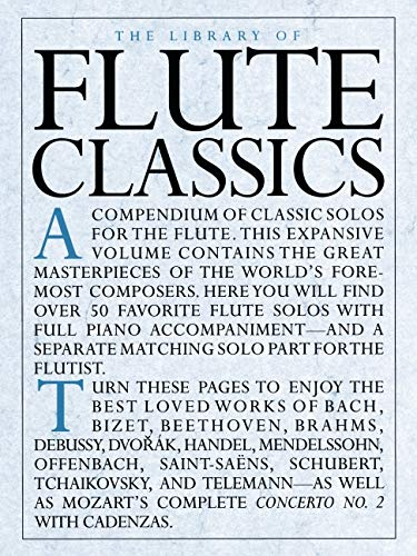 9780825617072: The Library Of Flute Classics (Library of Series)