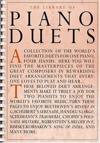 9780825617096: The Library of Piano Duets