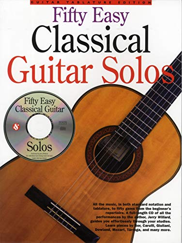 9780825617294: 50 Easy Classical Guitar Solos
