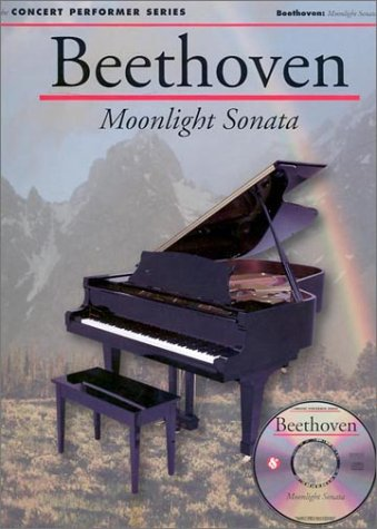 9780825617348: Beethoven: Moonlight Sonata (1st Movement) (Concert Performer Series)