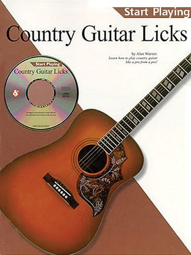 9780825617867: Country Guitar Licks (Start Playing)