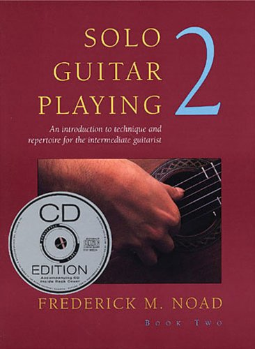 9780825617980: Solo Guitar Playing: Bk 2 (with CD)