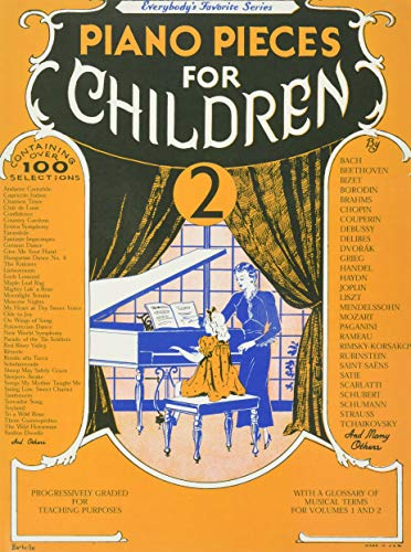 9780825618154: Piano Pieces for Children 2(Everybodys Favorite Series, No. EFS 250)