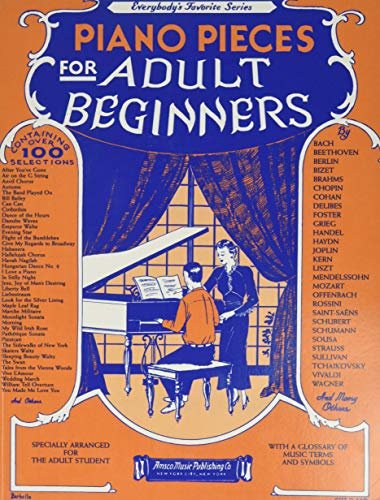 9780825618215: Piano Pieces for the Adult Beginner, No. 251