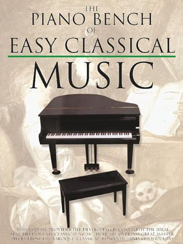 9780825618246: The Piano Bench of Easy Classical Music