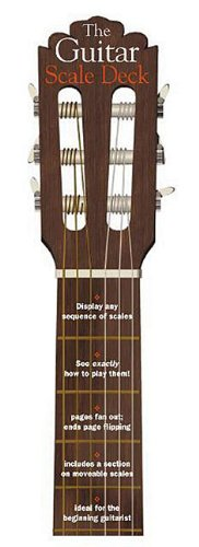 9780825618888: Guitar Scale Deck (Guitar Decks)