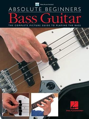 9780825619243: Absolute Beginners - Bass Guitar: Book/DVD Pack