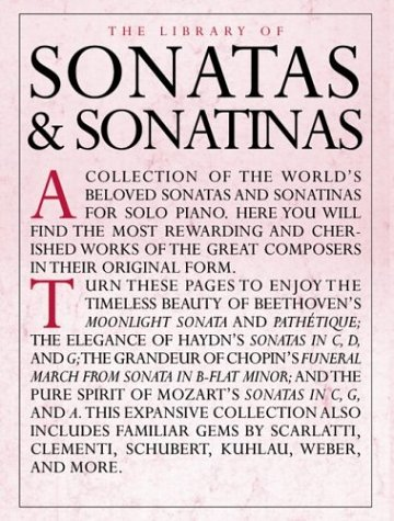 9780825619564: The Library of Sonatas and Sonatinas