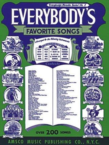 9780825620010: Everybody's Favorite Songs: (EFS 1)