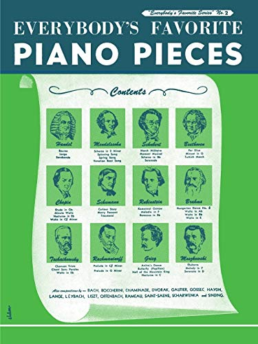 Everybody's Favorite Piano Pieces: Piano Solo: Hal Leonard Corp.